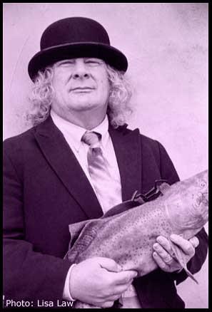 Wavy and his fish