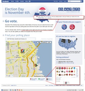 Facebook Election '08 Application/Page